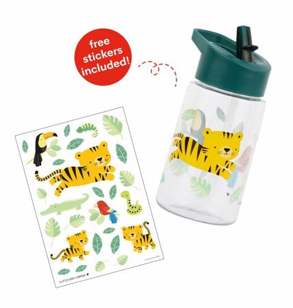 A Little Lovely Company® Steklenička za pijačo Jungle Tiger