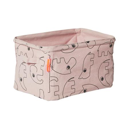 Done by Deer® Obostrana košara za pospremanje - Svijetlo ružičasta