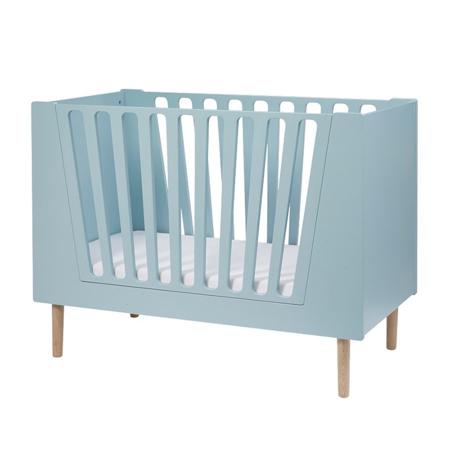 Done by Deer® Otroška posteljica 120x60 - Svetlo Modra