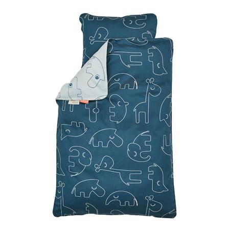 Done by Deer® Posteljina Sleepy Blue - 100x135; 40x60