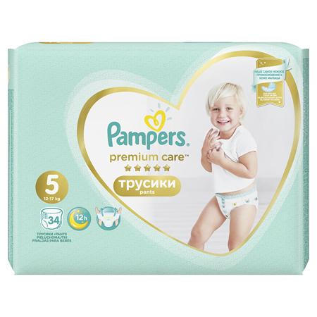 Slika za Pampers® Premium Care hlačne pleničke vel. 5 (11-18 kg) 34 kosov