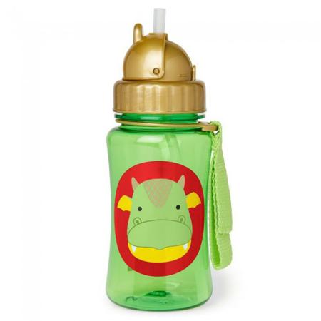 Slika za Skip Hop® Steklenička s slamico Zmaj