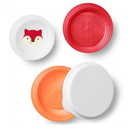 Slika za Skip Hop® Set tri zdjelice protiv klizanja Lisica
