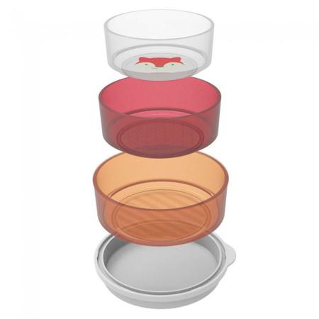 Skip Hop® Set tri zdjelice protiv klizanja Lisica