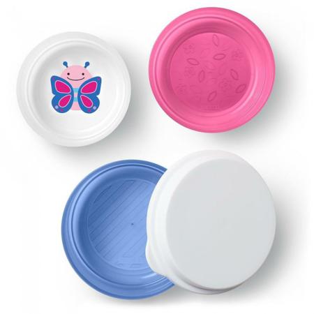 Slika za Skip Hop® Set tri zdjelice protiv klizanja Leptir