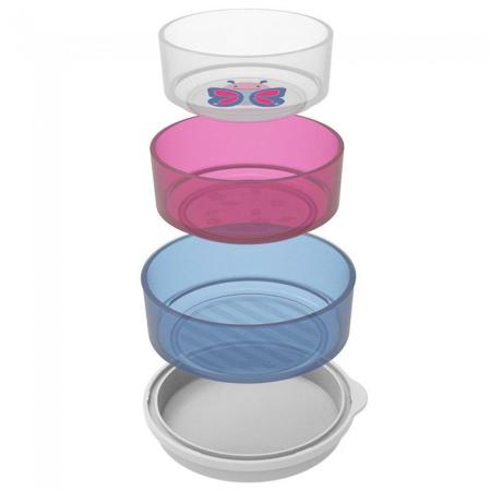 Skip Hop® Set tri zdjelice protiv klizanja Leptir