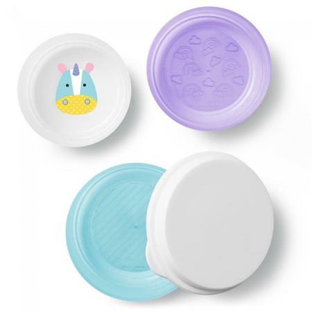 Slika za Skip Hop® Set tri zdjelice protiv klizanja Jednorog