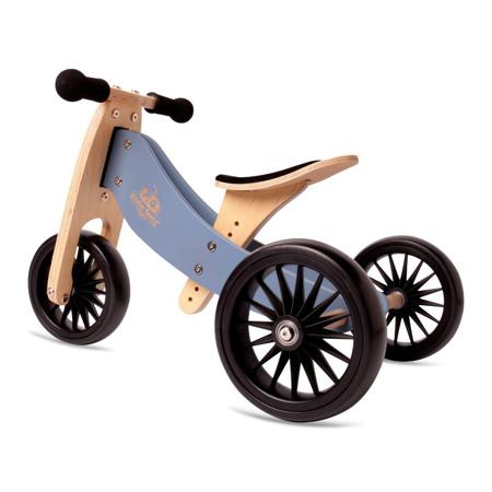 Slika za Kinderfeets® Drvena guralica Tiny Tot Plus 2u1 Slate Blue