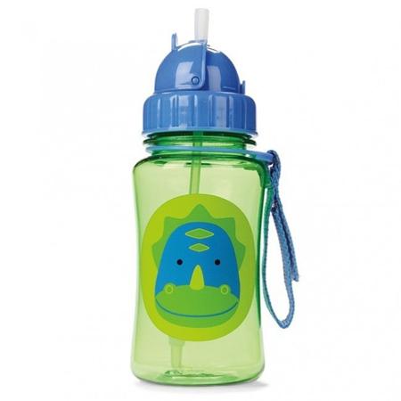Slika za Skip Hop® Steklenička s slamico Dinozaver