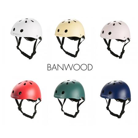 BANWOOD® Kaciga za guralicu 3/7 (50-54cm) Red