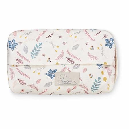 CamCam® Toaletna torbica za vlažilne robčke Pressed Leaves Rose