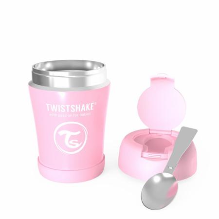 Twistshake® Termo posudica za hranu 350ml Pink
