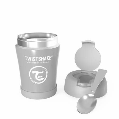 Twistshake® Termo posudica za hranu 350ml Grey