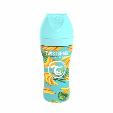 Slika za Twistshake® Bočica od nehrđajućeg čelika  Anti-Colic 330ml Banana
