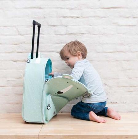 Trixie Baby® Otroški potovalni kovček Mr. Polar Bear
