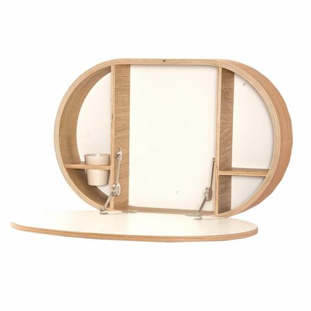 Slika za Charlie Crane® Zložljiva stenska mizica BAKI