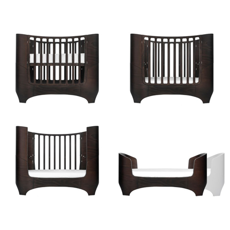 Slika za Leander® Otroška posteljica Baby 0-3 leta Walnut