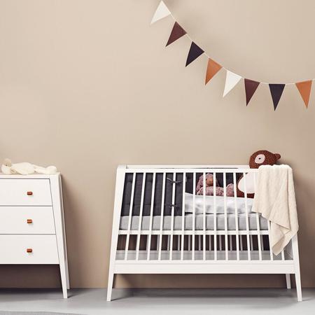 Leander® Otroška posteljica Linea 120x60 White