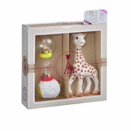 Slika za  Vulli® Poklon pakiranje Žirafa Sophie sa zvečkom Sophiesticated