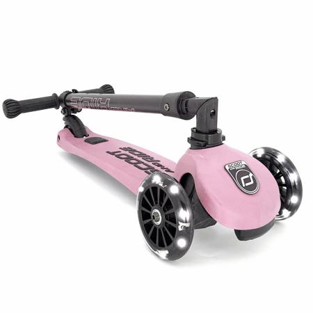 Scoot & Ride® Dječji romobil Highwaykick 3 Rose LED
