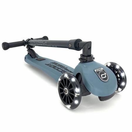 Scoot & Ride® Dječji romobil Highwaykick 3 Steel LED