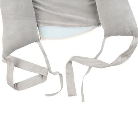 Slika za Effiki® Žametno otroško gnezdece Grey