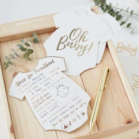 Slika za Ginger Ray® Kartice za savjete Oh Baby! 10 komada