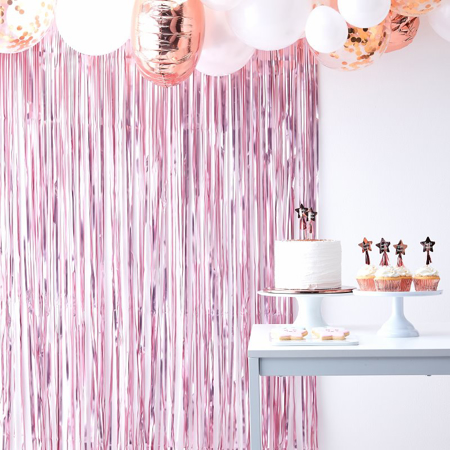 Slika za Ginger Ray® Viseča zavesa Pink Twinkle Twinkle