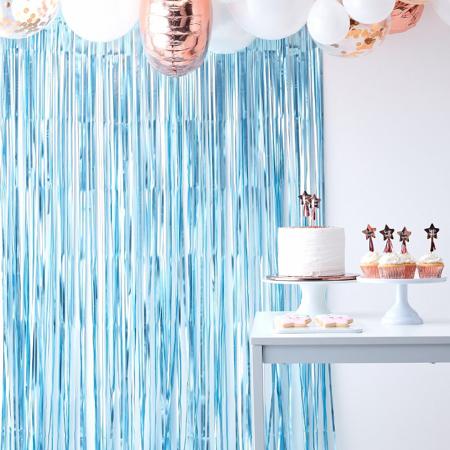 Slika za Ginger Ray® Viseča zavesa Blue Twinkle Twinkle