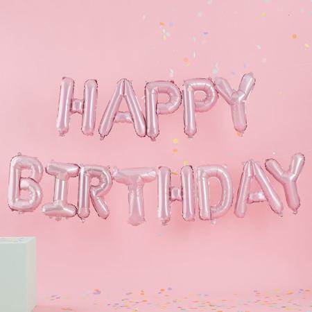 Slika za  Ginger Ray® Viseći baloni Gerlanda Mat Pastel Party