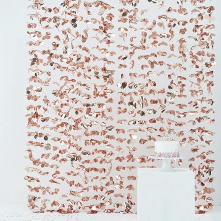 Slika za Ginger Ray® Viseća zavjesa za fotografiranje Rose Gold