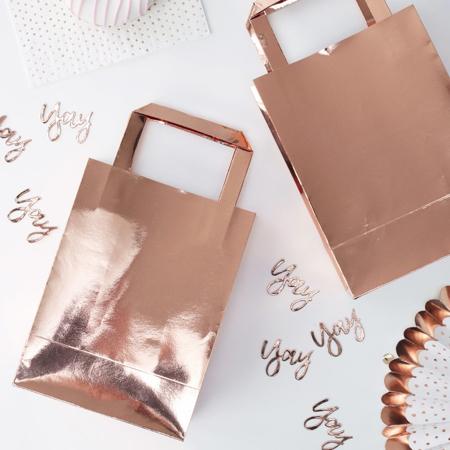 Slika za Ginger Ray® Poklon vrećice Rose Gold 5 komada
