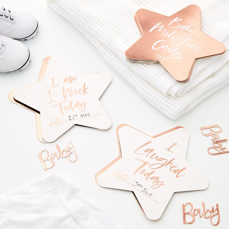 Slika za Ginger Ray® Milestone kartice Twinkle Twinkle 24 komada