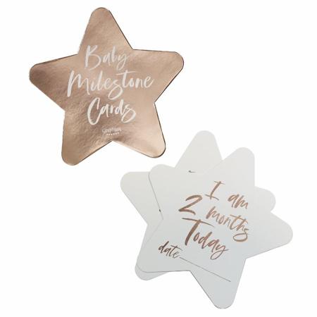 Ginger Ray® Milestone kartice Twinkle Twinkle 24 komada