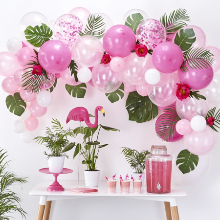 Slika za Ginger Ray® Luk iz balona Pink