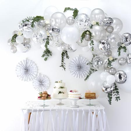 Slika za Ginger Ray® Luk iz balona Silver