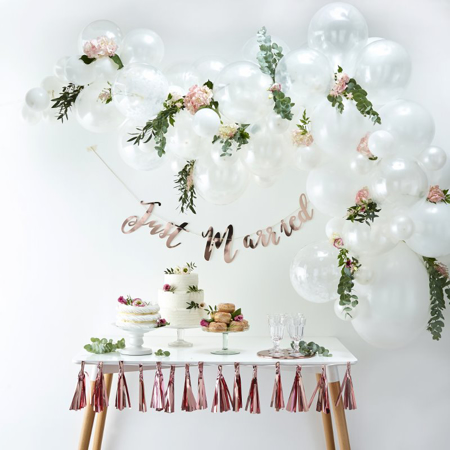 Slika za Ginger Ray® Luk iz balona White
