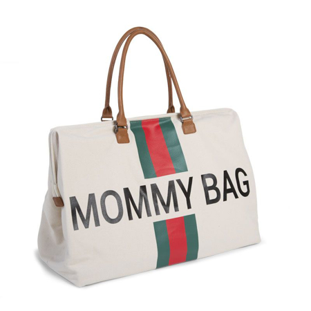 Childhome® Torba za previjanje Mommy Bag Big Green/Red