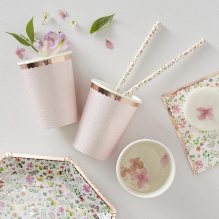 Slika za Ginger Ray® Papirnate čašice Ditsy Floral 8 komada