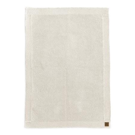 Slika za Elodie Details® Pletena volnena odejica Vanilla White 70x100