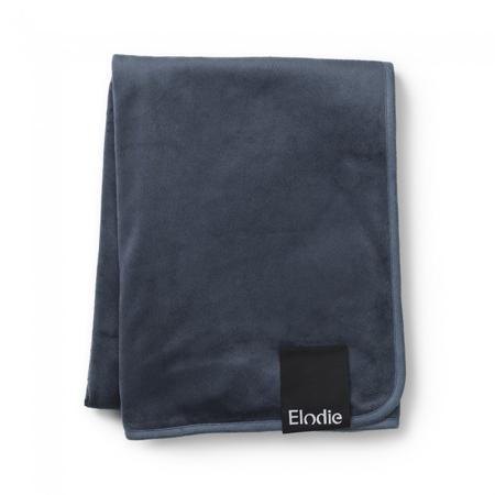 Slika za Elodie Details® Baršunasta dekica Juniper Blue 75x100