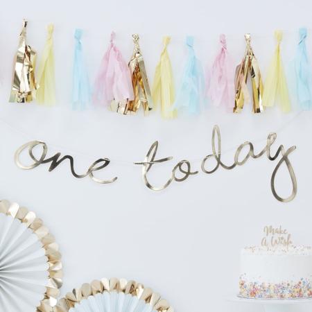 Slika za Ginger Ray® Viseći natpis Gold One Today