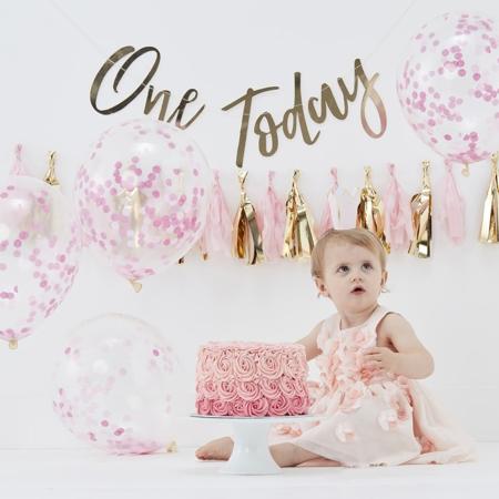 Slika za  Ginger Ray® Cake Smash za 1. rođendan Pink