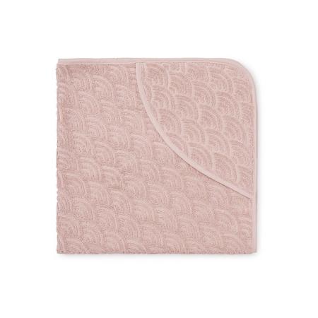 CamCam® Brisača s kapuco Blossom Pink 80x80