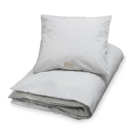 CamCam® Otroška posteljnina Grey Wave 70x100 in 100x140 - Baby 70x100, 45x40