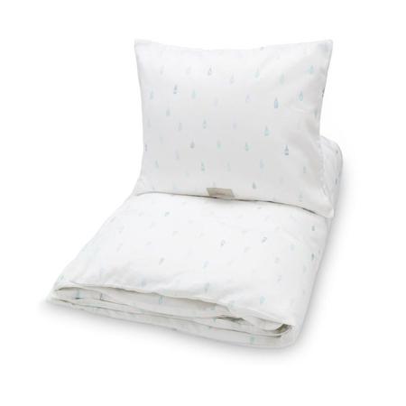 CamCam® Otroška posteljnina Raindrops 70x100 in 100x140 - Baby 70x100, 45x40