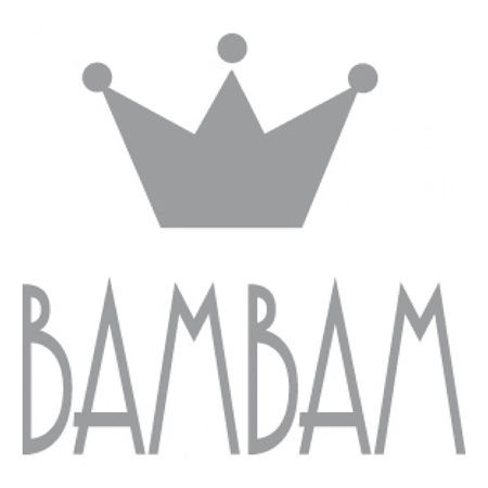 Slika za BamBam® Lesene črke Bele