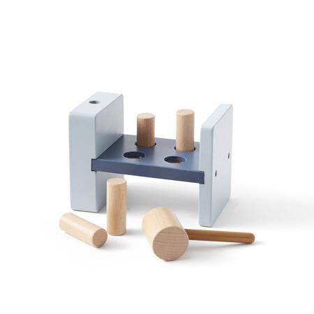 Slika za Kids Concept® Drvena igračka s čekićem Aiden Blue