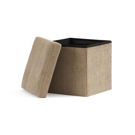 Kids Concept® Sjedež i kutija za pohranjivanje Corduroy
