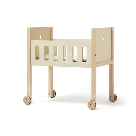 Slika za Kids Concept® Posteljica za lutke s posteljnino Natural